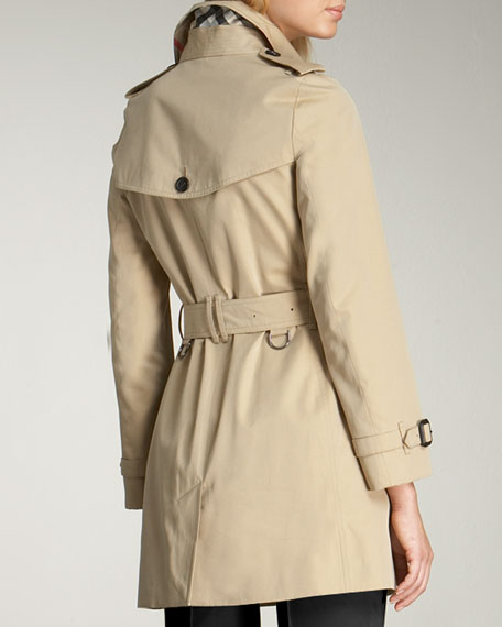 Gabardine Trenchcoat