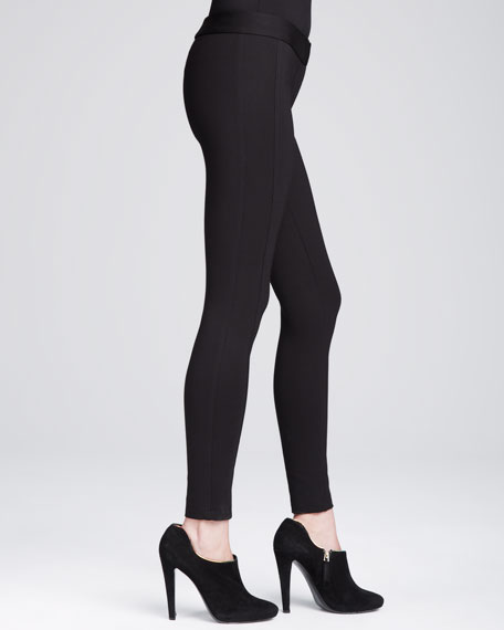 Double-Faced Jersey Leggings