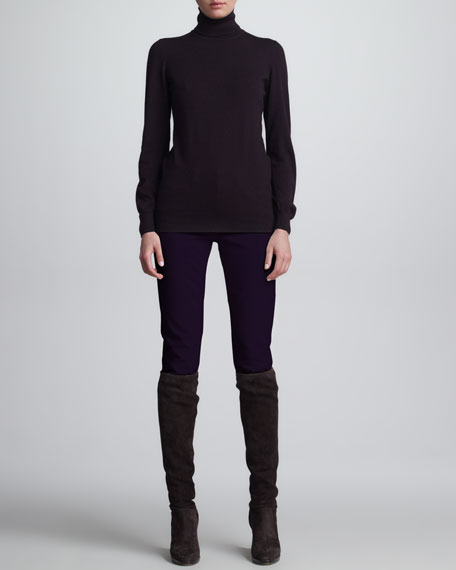 Guy Fitted Jeans, Grape