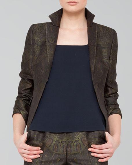 Paisley Jacquard Jacket