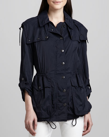 Lightweight Trench-Inspired Parka Jacket