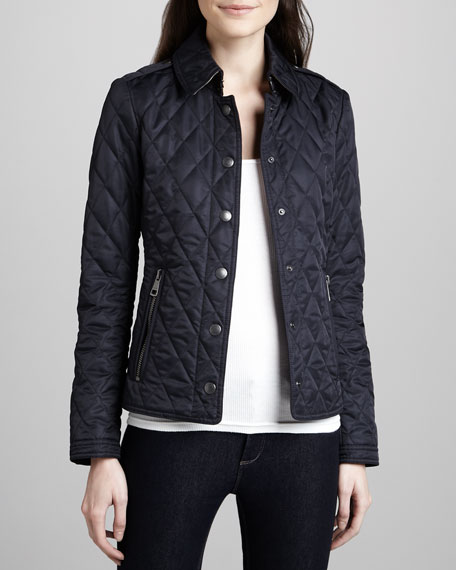 Quilted Zip-Pocket Jacket