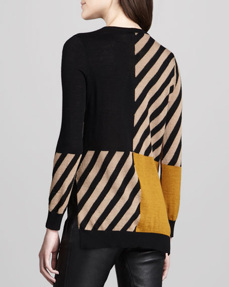 Graphic-Patterned Sweater