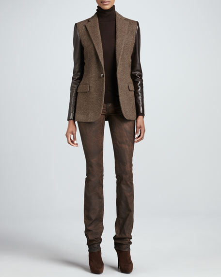 Matchstick Slim Jeans, Sake Brown