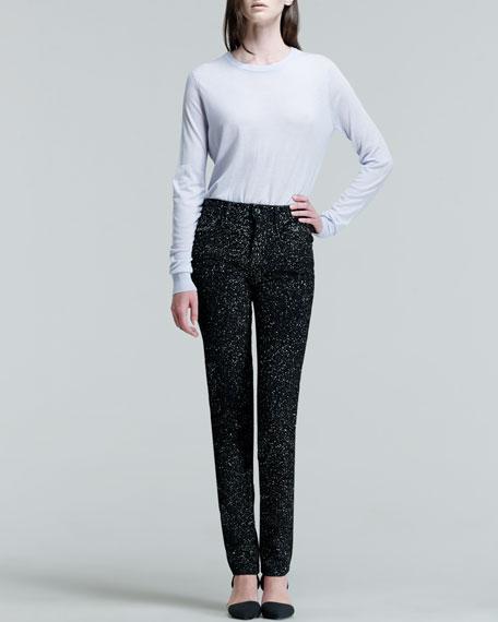 Sparkly Skinny Jeans