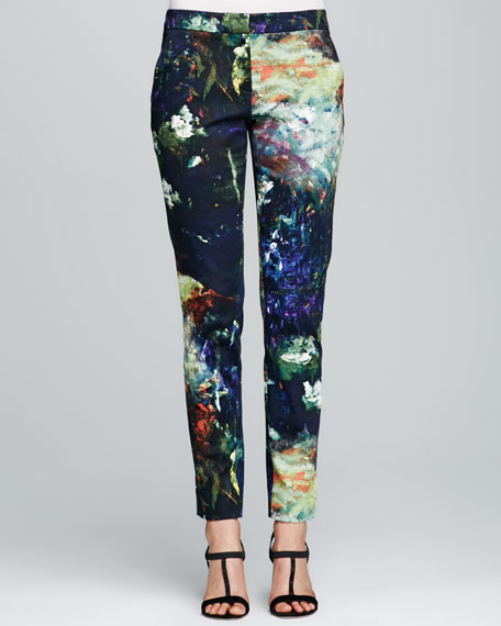 Skinny Printed Everyday Pants