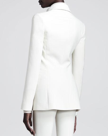 Slim Stretch-Scuba Jacket