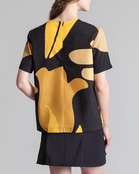 Box-Pleated Miniskirt, Coal