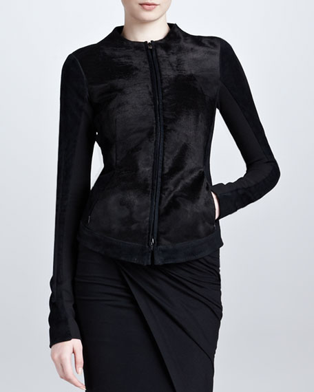 Fur Body Jacket