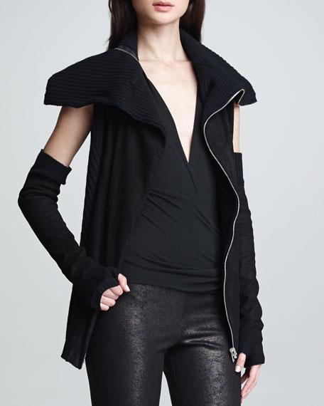 Reversible Zip-Front Vest