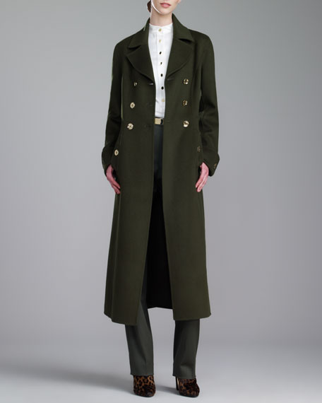 Military Coat, Loden