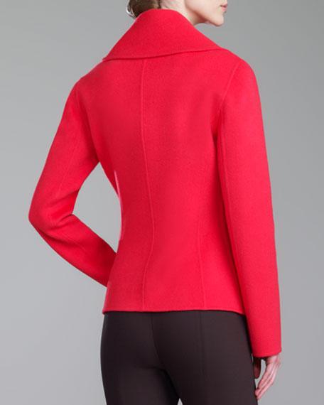 Shawl-Collar Jacket, Grenadine