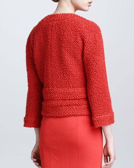 Textured Boucle Jacket