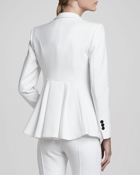 Flared-Back Jacket
