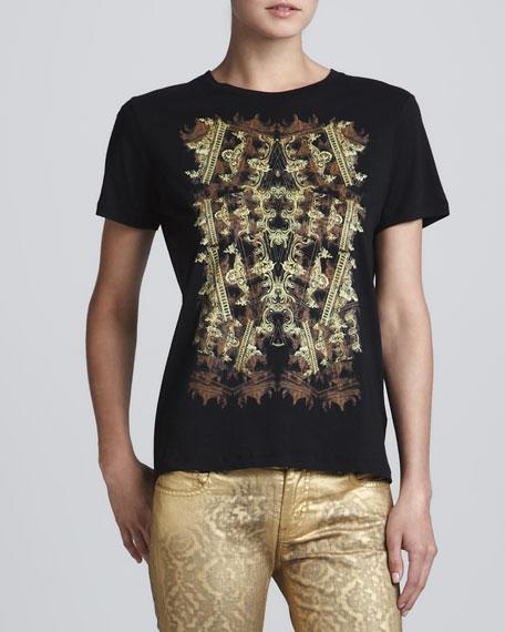 Architecture-Print T-Shirt