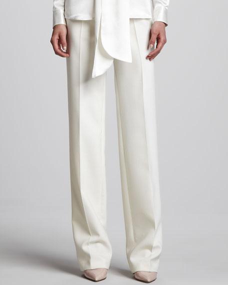 Straight Pants, Ivory
