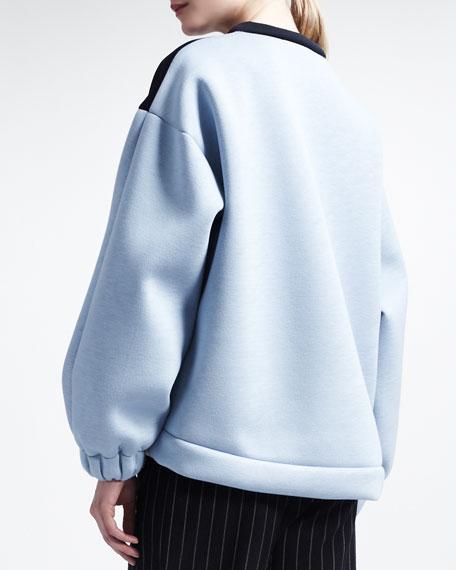 Tricolor Scuba Sweatshirt
