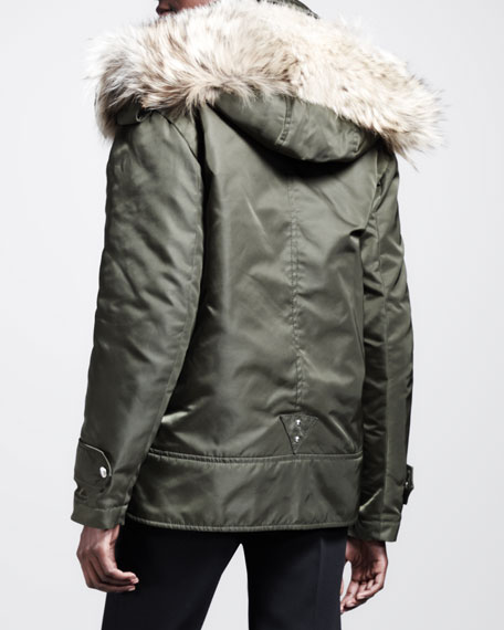 Cyprus Fur-Hood Utility Parka