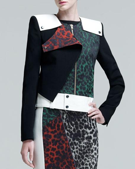Durango Leopard-Jacquard Jacket
