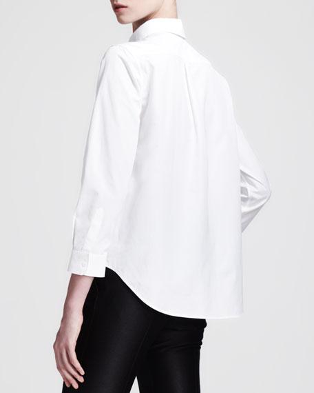 Pippa Buttoned Poplin Shirt