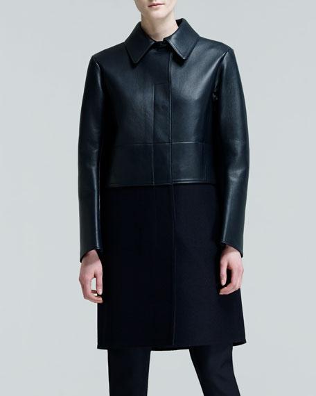 Proust Paneled Combo Coat