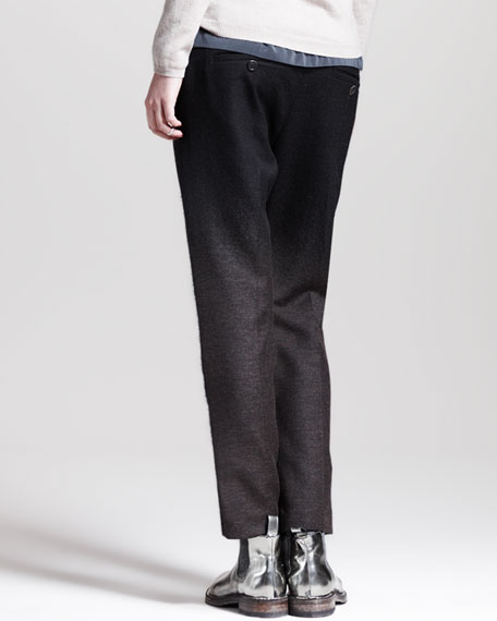 Oversized Slouchy Ombre Pants