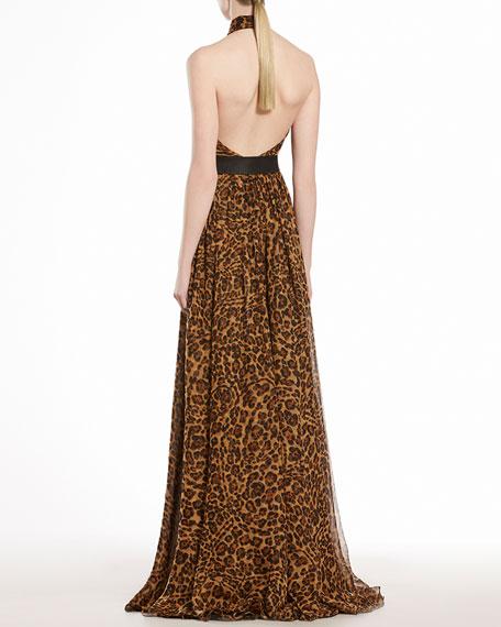 Jaguar Printed Silk Chiffon