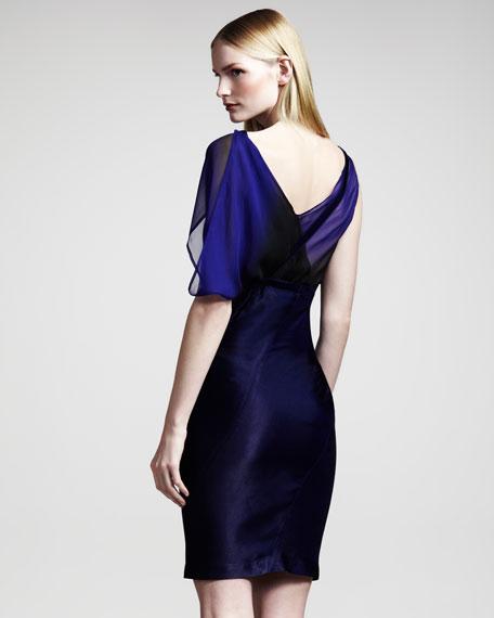 Asymmetric High-Waist Skirt