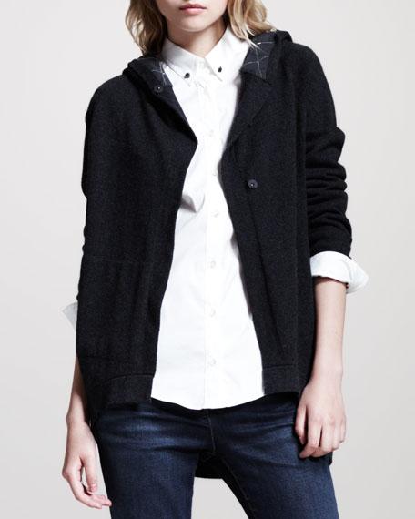 Cashmere Monili-Hood Jacket