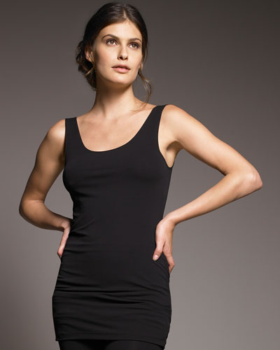 Donna Karan Scoop-Neck Tank