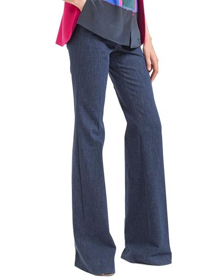 Farrah Stretch Denim Trousers
