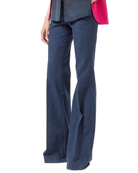 Farrah Stretch Denim Trousers