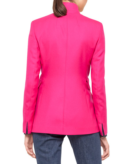Lancy Long Cashmere Jacket