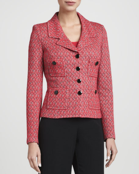 Four-Button Blazer, Grenadine