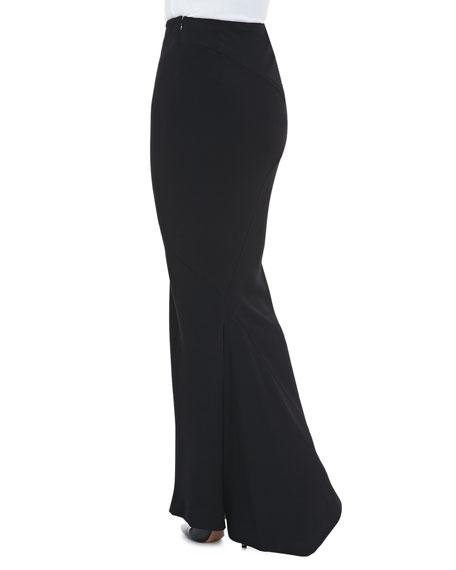 Long Fishtail Trumpet Skirt