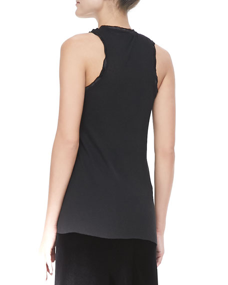 Relaxed Raw Racerback Tank