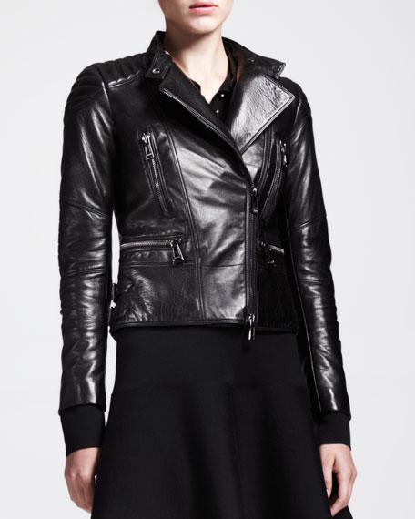 Sidney Leather Moto Jacket