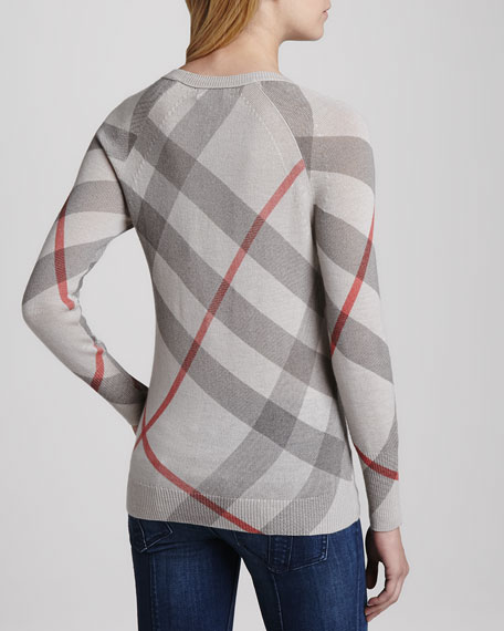 Classic Check Knit Sweater