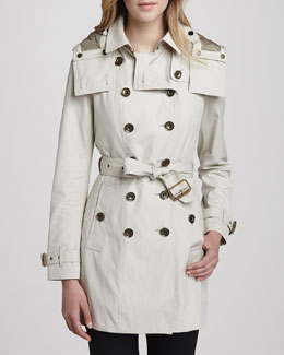 Burberry Brit Trenchcoat with Removable Warmer
