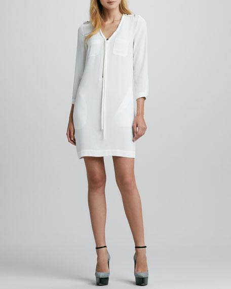 Zip-Front Shift Dress