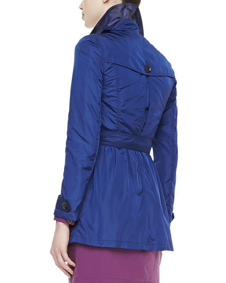 Lightweight Iridescent Trenchcoat