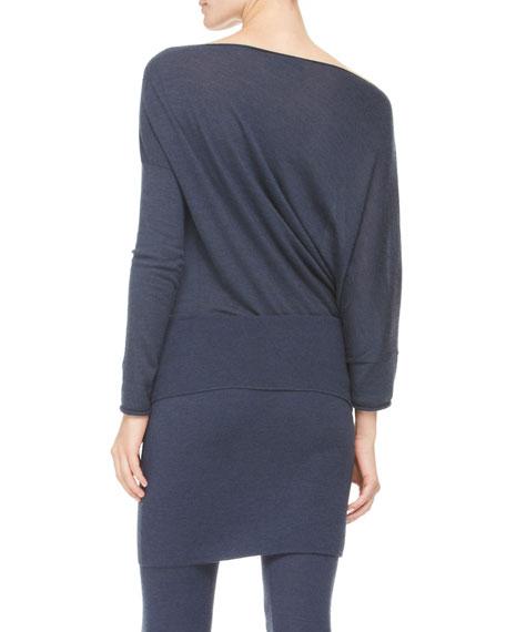 Fold-Over Tube Miniskirt
