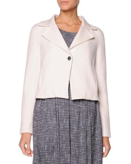 Single-Button Short Jacket
