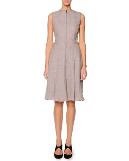 Giorgio Armani Sleeveless Zip-Front Dress