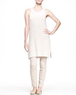THE ROW Long Boucle Tank Dress