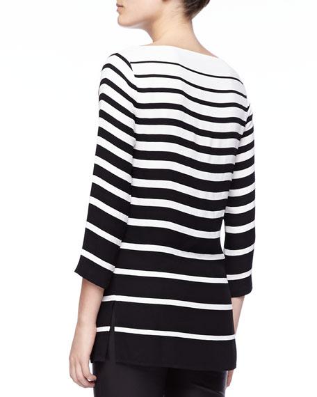 Linette Graduated-Stripe Tunic