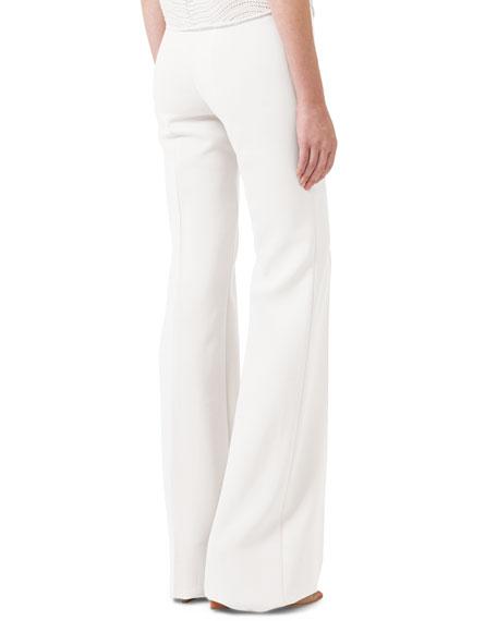 pant, cotton silk double fac