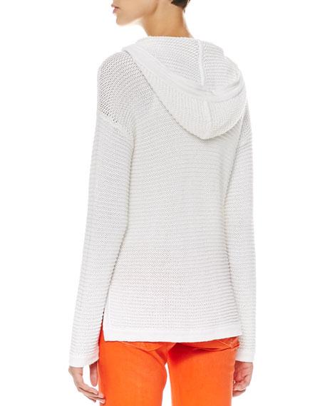 Modern Knit Hoodie Cardigan