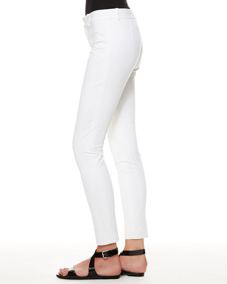 Lana Pocket-Less Ankle Trousers