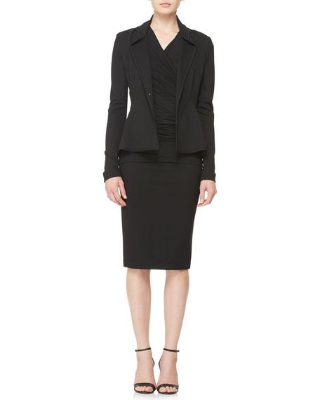 Knit Cardigan Jacket